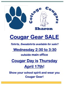 Cougar Gear Sale